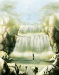 Water Fall landscape