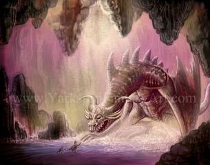 Beowolf Vs Dragon