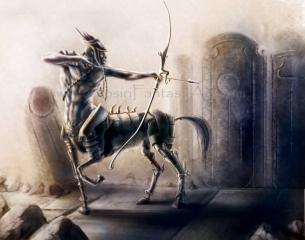 Steampunk Centaur 001