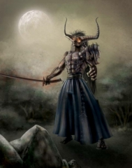 Demon Samurai 001