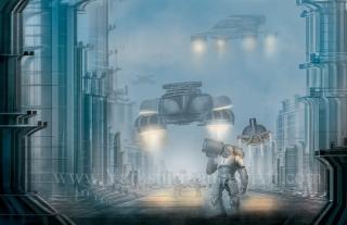 Futuristic Soldier 002