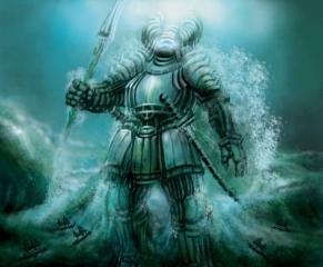 Samurai Water Elemental