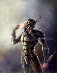 Futuristic Soldier 001