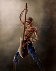 Zombie Guitarist 001