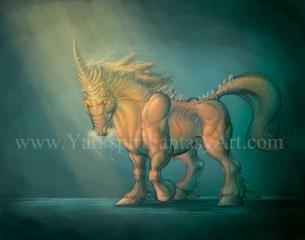 Demonic Unicorn