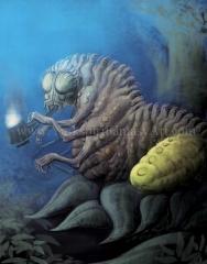 Caterpillar - Alice in Wonderland Horror