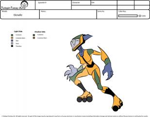 Female Alien - Animation Style