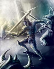 Heavy Warrior Elf 001