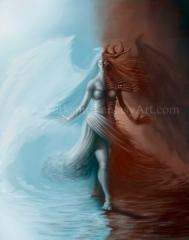 Female Angel Demon Duality