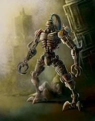 Steampunk Robot 001