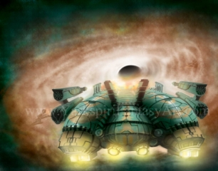 Doomed spaceship
