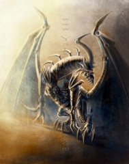 Steampunk Dragon 001