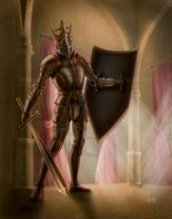 Gold Knight 001