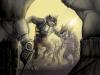 Werewolf Vs Cyborg Army