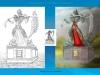 Memorial Design - Alice in Wonderland Horror